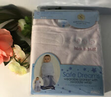 Halo safe dreams wearable Baby Girl blanket swaddle wrap Light Pink /Birds!❣️