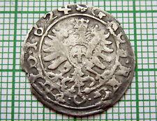 POLAND LITHUANIA COMMONWEALTH SIGISMUND III 1624 GROSCH - GROSZ KORONNY, SILVER