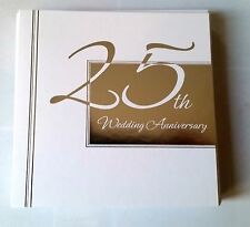 "C)lot 10 Cartes Anniverssaire 25 th Mariage ""Wedding Anniversary"" Neuves"