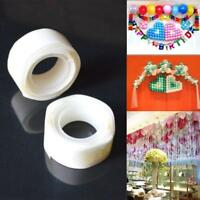 100 Glue Dots Stickers Balloon Permanent Adhesive Wedding Party Photo Decor KY