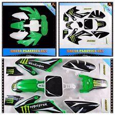 CRF50 3M Sticker + Green Plastics 50/70/90/110/125cc Atomik Thumpstar Pitpro