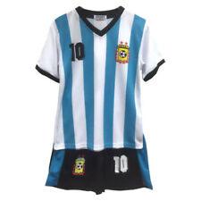 Camisetas de fútbol de selecciones nacionales para niños argentinos