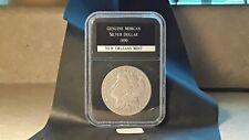 1890-O Silver Morgan Dollar in Black PCS holder in Nice Condition (90OMSDU034)