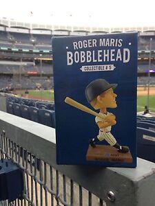 ROGER MARIS BOBBLEHEAD BOBBLE HEAD NEW YORK YANKEES RARE LIMITED EDITION SGA