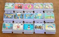 Lot of 15 Vtech VSmile game cartridges Elmo Scooby Thomas Barney Dora Nemo More