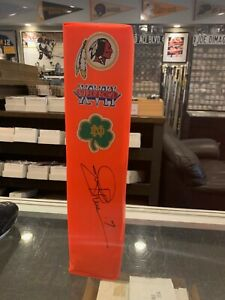 JOE THEISMANN WASHINGTON REDSKINS NOTRE DAME  SIGNED PYLON  TOTAL SPORTS
