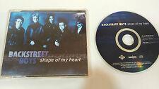 BACKSTREET BOYS SHAPE OF MY HEART SINGLE CD 3 TRACKS EU EDITION