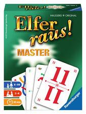 Ravensburger Kartenspiel Kartenlegespiel Elfer raus! Master 20756