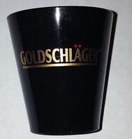 Goldschlager Shot Glass Black Plastic Liquor Schnapps Bar Drink Game Barware NEW