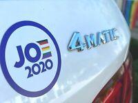 """Joe Biden for President Campaign 2020 Die Cut Shape Sticker 3"""" bumper Laptop"""