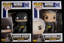 BATMAN The Dark Knight Returns - 2 Vinyl Figuren - Funko Pop! (Armored Batman)