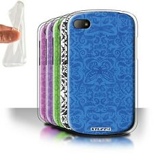 STUFF4 Gel/TPU Case/Cover for Blackberry Q10/Insect Pattern