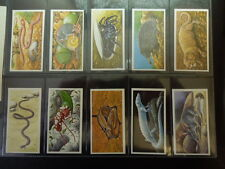 1985 Brooke Bond Tea INCREDIBLE CREATURES animals  Trading set  50 cards Walton