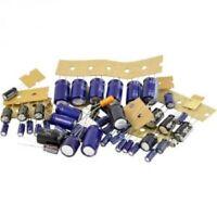 Assortimento di condensatori elettrolitici kit 100 pezzi