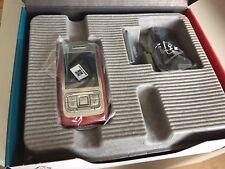 Nokia  E65 - Rot - Silber (Ohne Simlock) Smartphone Neu!! 100% Original!!
