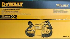 "Dewalt DCS374B 5"" Deep Cut Cordless Band Saw 20 volt XR New in Box"