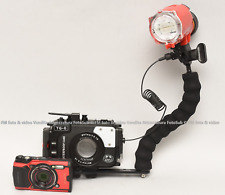Olympus Kit Fotocamera TG-6 + Kit Flash sub Inon S-2000 + Custodia Seafrogs