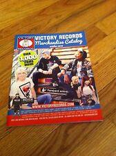 VICTORY RECORDS Catalog Winter 2012 Emo Hardcore Metalcore Punk Heavy Metal Rock