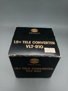 Minolta 1.5X Tele Converter VLT-910