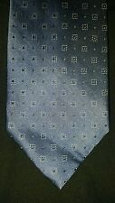 """APT 9 MENS TIE NWOT BLUE WITH BLACK AND WHITE POLKA-DOTS 59"""" X 4"""""""