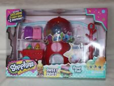 Shopkins Sweet Spot Food Fair Playset Exclusive 2 Candy Bags & 2 Shopkins New