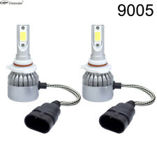 2 Bulbs Cree LED Headlight 9005 HB3 6000K  High Beam or Fog DRL Bulb White PAIR