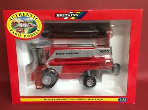 2000- Britains 1/32 Massey Ferguson 7200 Combine Harvester No00054 MIB