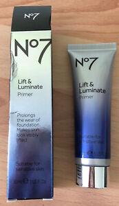 No7 Lift and Luminate Primer