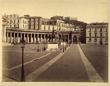 Photo Albuminé Napoli Naples Italie Vers 1870/80 # 4