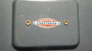 Vintage CRAFTSMAN Tool Box - 11.25 L x 7.5 W x 4.5 H