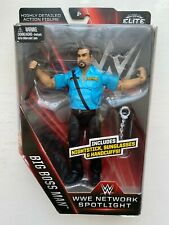 BNIB WWE THE BIG BOSS MAN MATTEL ELITE NETWORK SPOTLIGHT SERIES WRESTLING FIGURE
