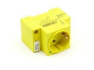 Phoenix Contact Sd-D / Sc / La / Ye Schaltschrank-Steckdose Yellow LED 16A 250V