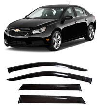 For Chevrolet Cruze Sd 2009-15 Window Visors Side Sun Rain Guard Vent Deflectors