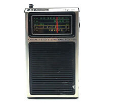 Solid State AM FM TV Transistor Radio Model 422AA Electronics International