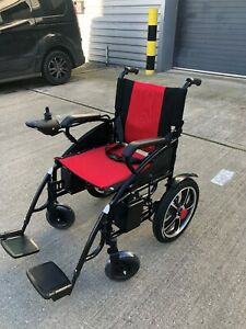 Portable Folding Electric Wheelchairs Elderly Disabled Scooter Foldable 6011