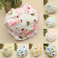 Cartoon Lovely Reusable Baby Infant Cotton Nappy Washable Diaper Pants Underwear
