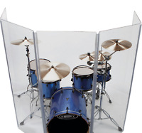 Acrylic Drum Shield DS65.5 L with Full length Hinges Total Height 5.5ft