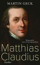 Matthias Claudius von Martin Geck (2014, Gebundene Ausgabe) | Buch