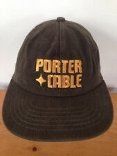 Porter Cable Embroidered Logo Cotton Tools Baseball Hat Cap Snapback Adjustable