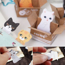 5 Colors Cute Animal Sticker Post-It Bookmark Marker Memo Index Tab Sticky Notes