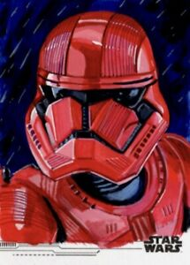 Star Wars The Rise Of Skywalker Topps Sketch Card, Sith Trooper, Candice Dailey