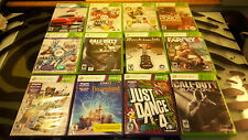 Xbox 360 Games Lot of 12 Farcry Forza NHL Madden COD DECA Rocksmith Kinect Dance