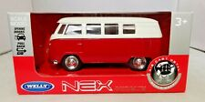 WELLY - NEX MODELS - DIECAST - 62 VOLKSWAGEN CLASSICAL BUS - TY4953