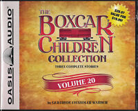 NEW The Boxcar Children Collection Volume 20 Audio Book Unabridged 6 CDS 3 Story