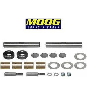 For Chevrolet BL GMC 100 Truck Front Steering King Pin Set w/ Metal Bushing Moog