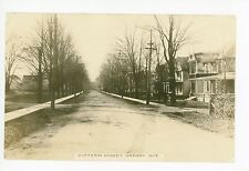 Dufferin Street RPPC Granby QUEBEC Rare Antique Photo CPA Dirt Road 1916