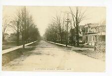 Dufferin Street RPPC Granby QUEBEC Rare Antique Photo CPA Dirt Road 1916
