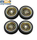 Redcat Racing Gold Low Profile Lowrider Tires Complete (Not Glued) (4) RER14434