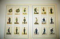 Sammelbilder Waldorf-Astoria Uniformen der Marine und Schutztruppen B-24181