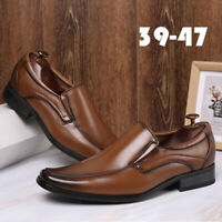 Mens Business Formal Dress Shoes Casual Shoes Oxfords Leather Loafers Walk Shoes